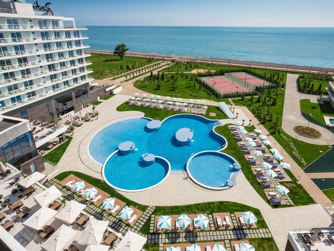 Отель Radisson Blu Paradise Resort & Spa Sochi, 5*, Адлер