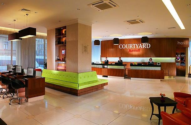 фотографии Courtyard by Marriott St.Petersburg Vasilievsky изображение №32