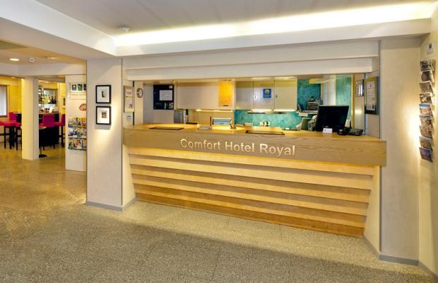 фотографии Comfort Hotel Royal Zurich (ex. Comfort Inn Royal) изображение №4