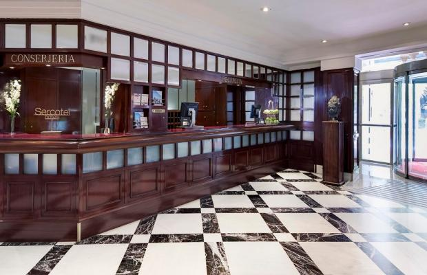 фотографии отеля Sercotel Gran Hotel Conde Duque изображение №7