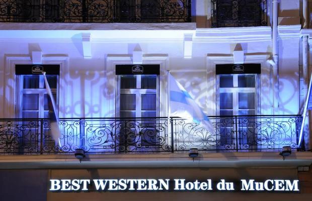 фото отеля Best Western Hotel du Mucem изображение №21