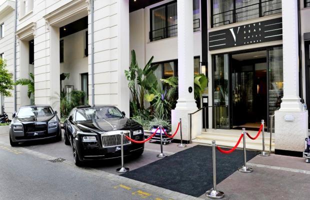 фотографии отеля Five Seas Hotel Cannes изображение №11