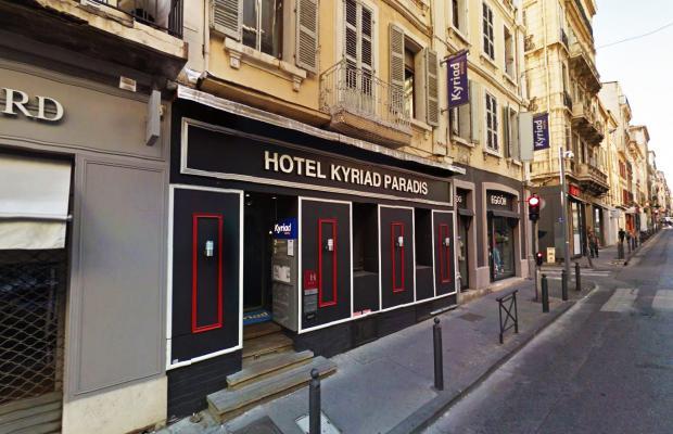 фото отеля Kyriad Marseille Centre Paradis-Prefecture (ex. Kyriad Marseille Paradis) изображение №1