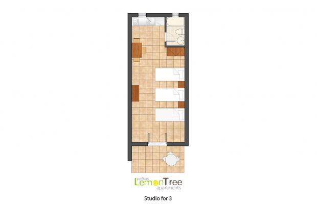 фотографии отеля Lemon Tree Apartments изображение №3