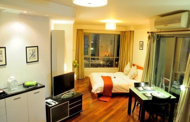 фотографии отеля Kingland Serviced Apartment изображение №19