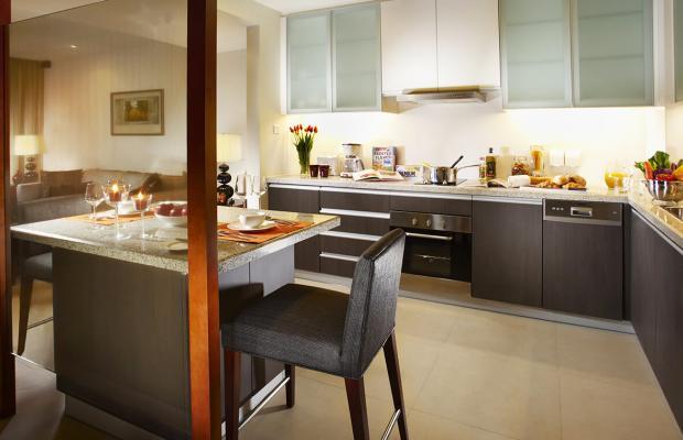 фотографии отеля Oakwood Residence Shanghai изображение №15