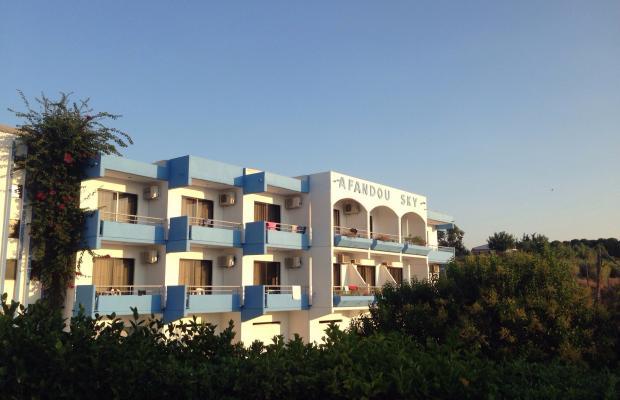 фотографии Afandou Sky Hotel изображение №4